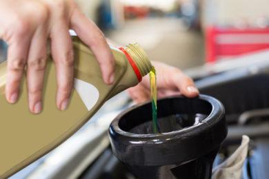 Schmierung, Öl und Filter