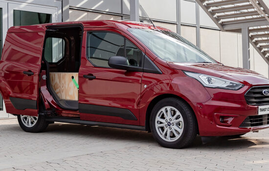 ford transit connect header